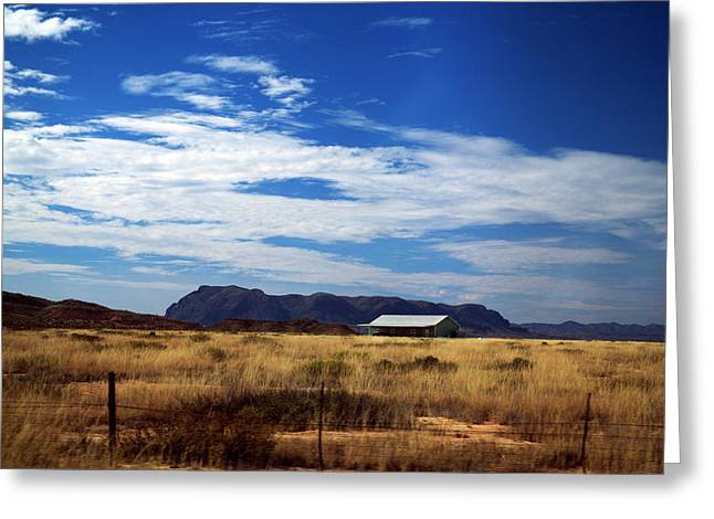 West Texas #1 Greeting Card
