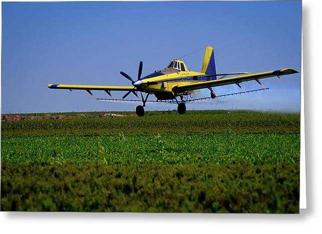 West Texas Air Force 2 Greeting Card