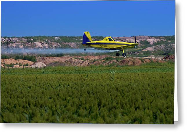 West Texas Airforce Greeting Card