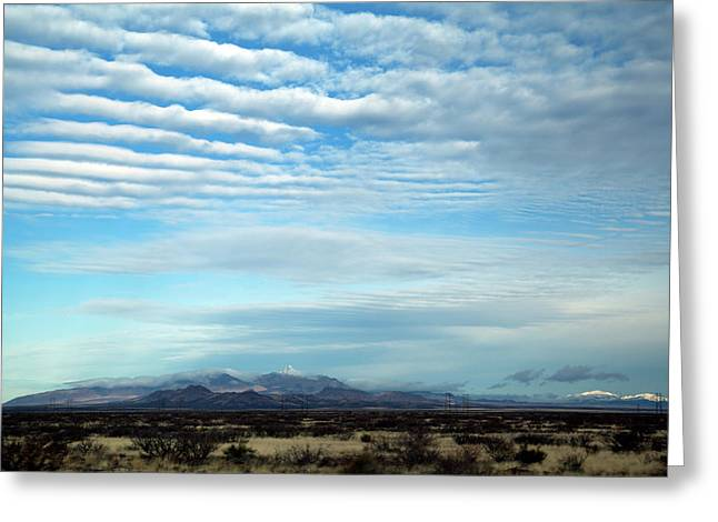 West Texas Skyline #2 Greeting Card