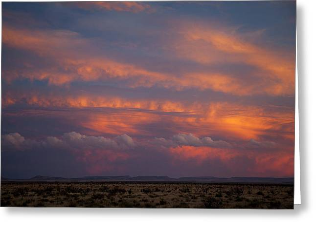 West Texas Sunset #1 Greeting Card