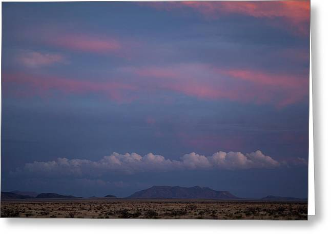 West Texas Sunset #2 Greeting Card