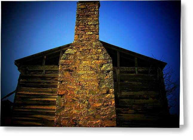 West Virginia Chimney Greeting Card by Michael L Kimble