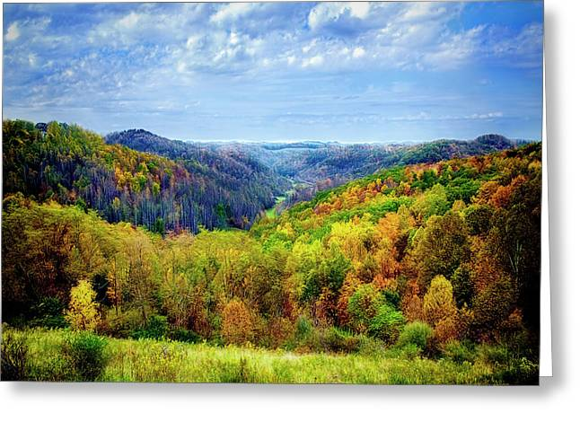 West Virginia Greeting Card