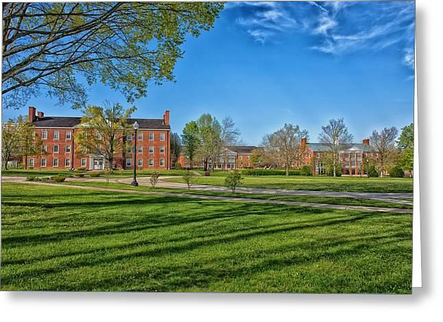 West Virginia Wesleyan College Greeting Card