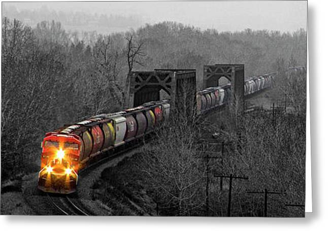 Westbound Grain Greeting Card