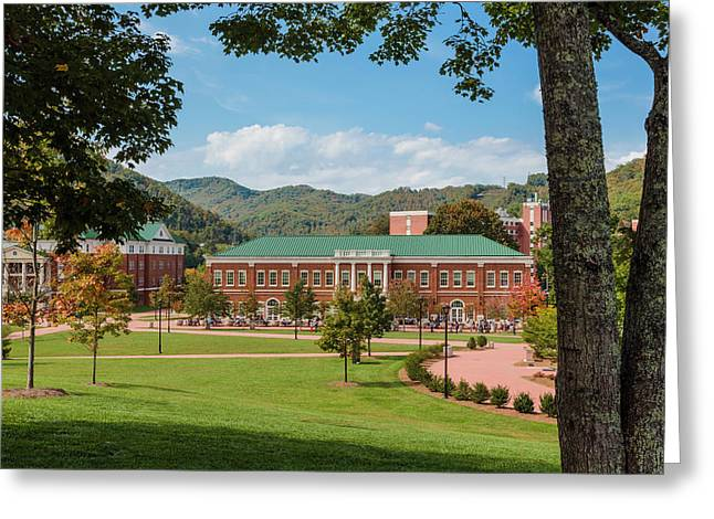 Western Carolina University, Usa Greeting Card