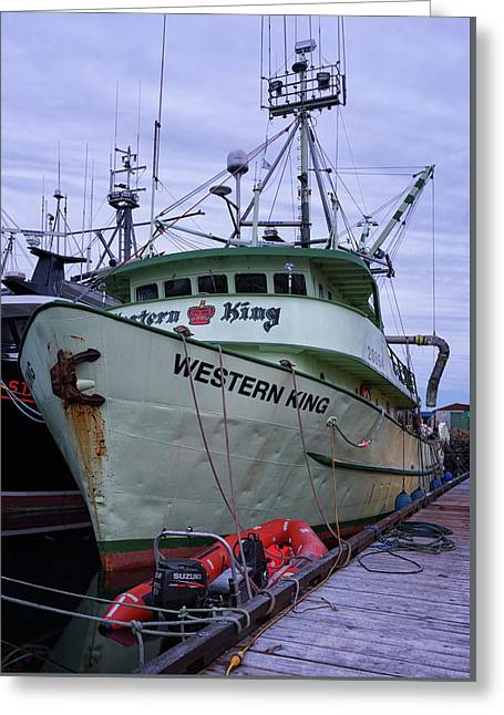 Greeting Card featuring the photograph Western King At Discovery Harbour by Randy Hall