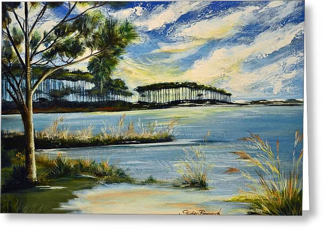 Western Lake 30a Greeting Card by Stephen Broussard