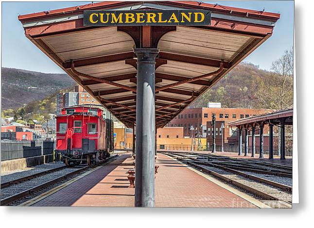 Western Maryland Railway Station Greeting Card by Jerry Fornarotto