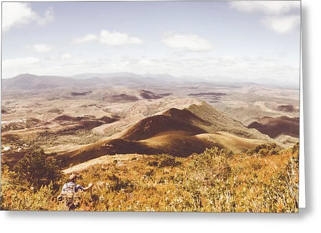 Western Tasmania Wilderness  Greeting Card