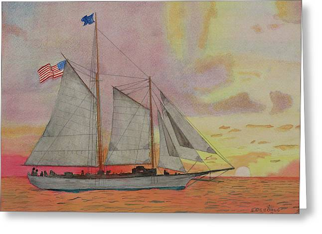 Western Union Out Of Key West Painting By John Edebohls