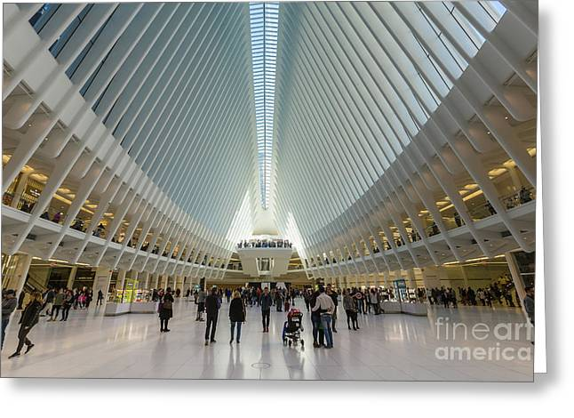Westfield World Trade Center Vii Greeting Card