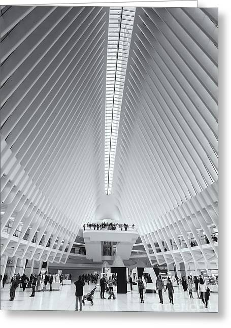 Westfield World Trade Center X Greeting Card