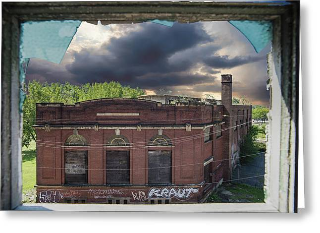 Westinghouse In A Storm Greeting Card