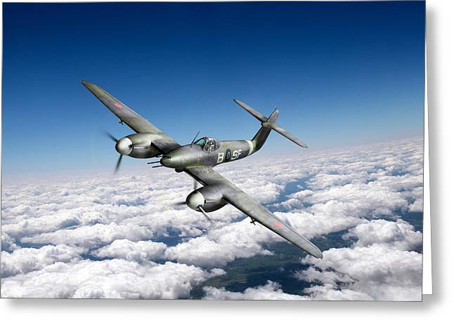 Westland Whirlwind Portrait Greeting Card by Gary Eason