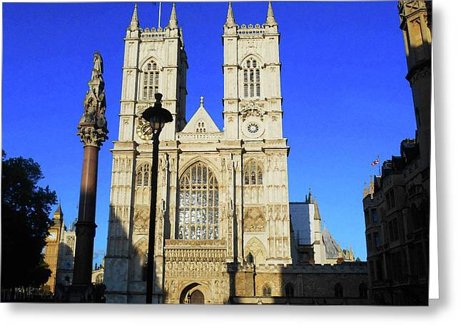 Westminster Abbey London England Greeting Card
