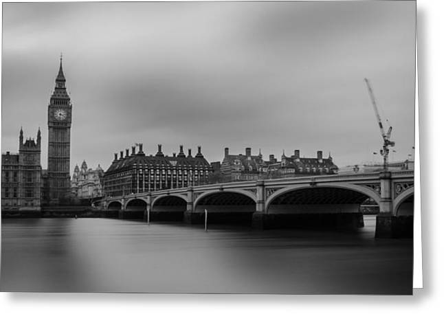 Westminster Bridge London Greeting Card