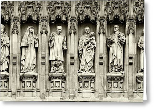 Westminster Martyrs Memorial - 1 Greeting Card by Stephen Stookey
