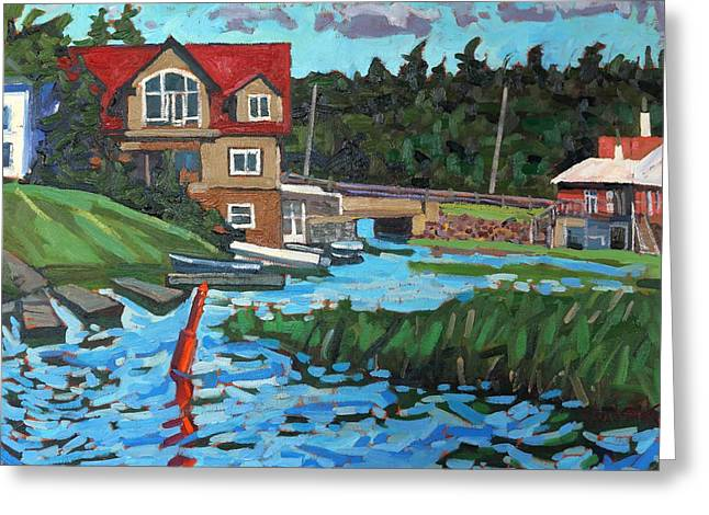 Westport Grist Mill Greeting Card