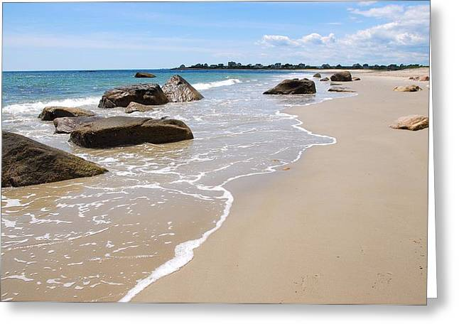 Westport Harbor Low Tide Greeting Card