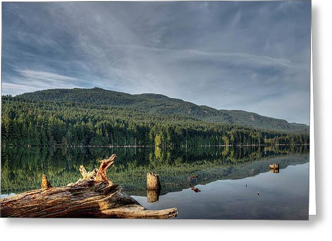 Westwood Lake Greeting Card