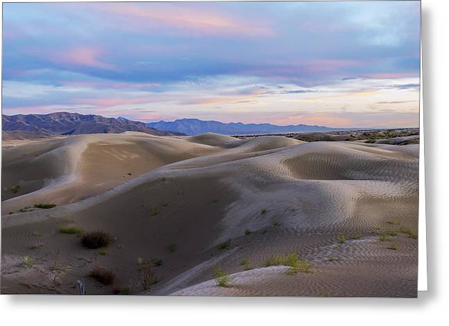 Wet Dunes Greeting Card