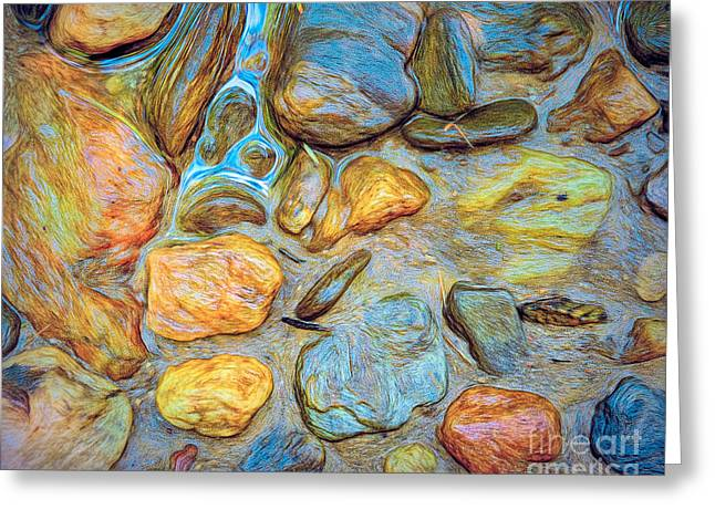 Wet Stones Greeting Card