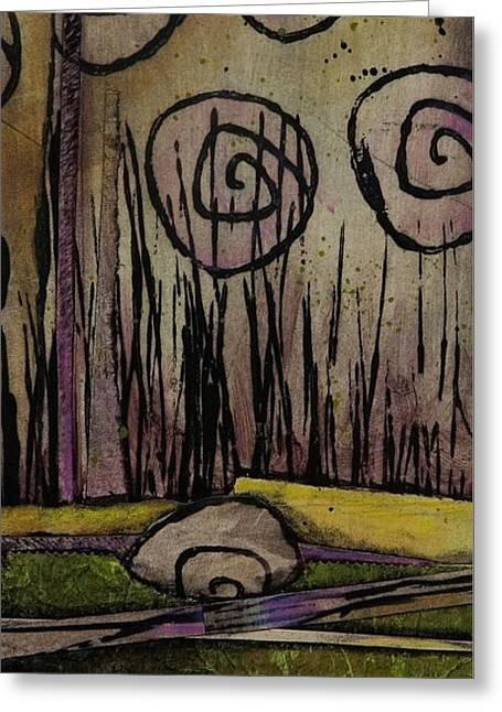 Wetland's Freedom  Greeting Card by Laura Lein-Svencner
