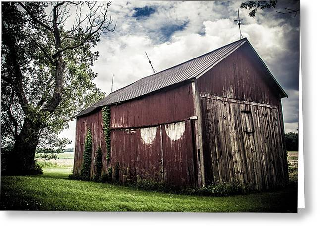 We've Been Here Awhile  Greeting Card by Off The Beaten Path Photography - Andrew Alexander