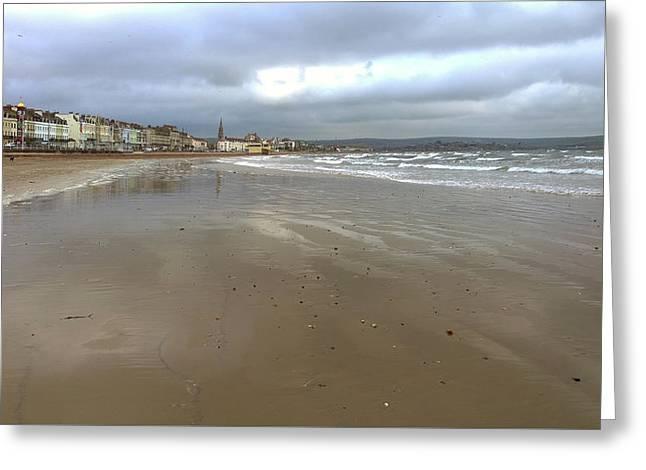 Weymouth Morning Greeting Card