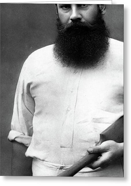 Wg Grace Greeting Card by Herbert Rose Barraud