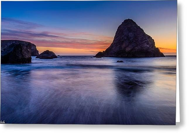Whaleshead Beach Sunset Greeting Card