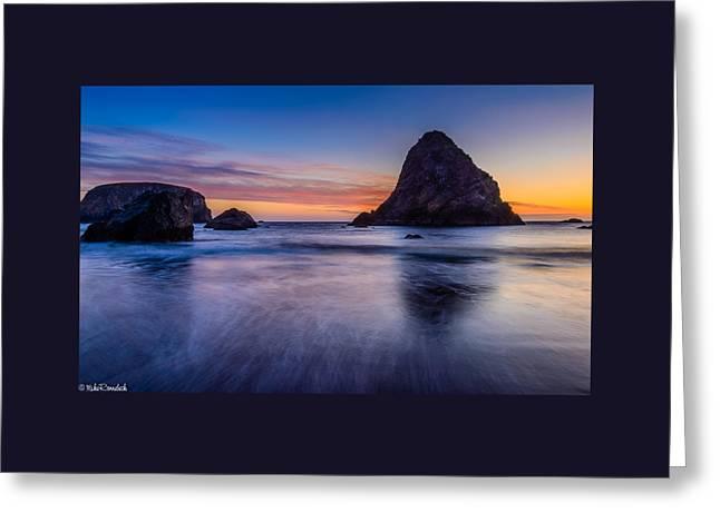 Whaleshead Beach Sunset Greeting Card