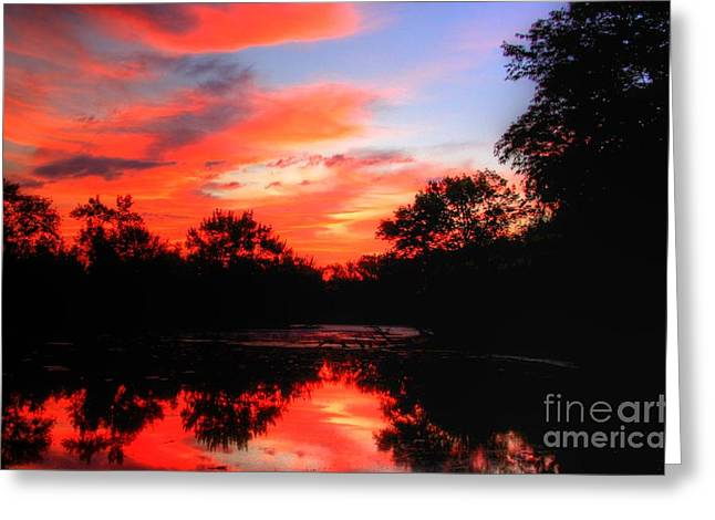 What A Morning 2 Greeting Card by Robert Pearson