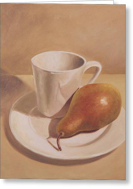 What A Pear Greeting Card by Eva Folks