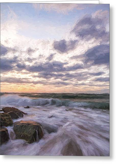 What I Watch II Greeting Card by Jon Glaser