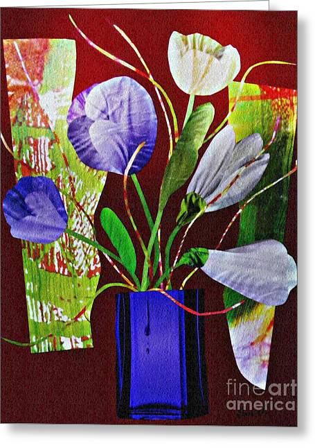 What Marie Left Behind Greeting Card by Sarah Loft