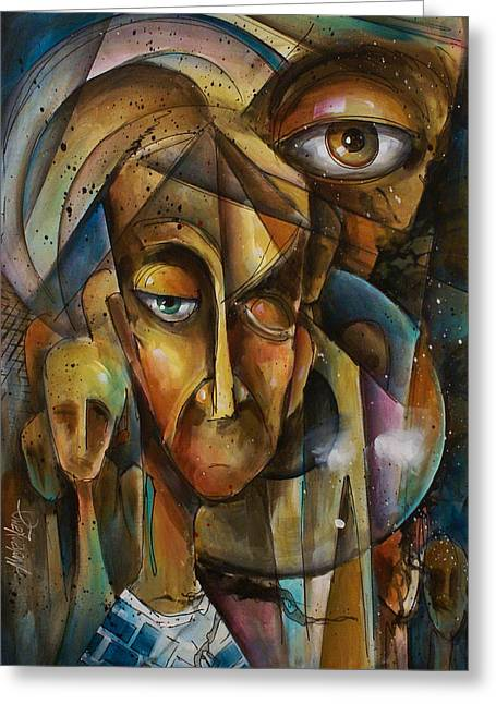 What Greeting Card by Michael Lang