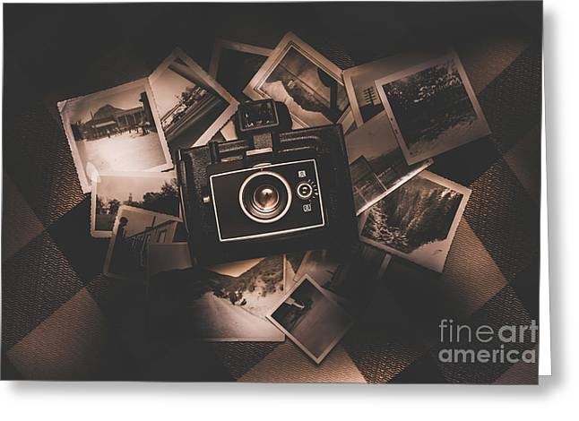 What Once Was. Memories Recollected Greeting Card by Jorgo Photography - Wall Art Gallery