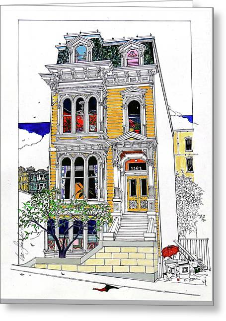 What's In Your Window? Greeting Card