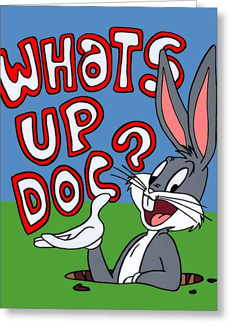 Whats Up Doc Greeting Card by Ian  King