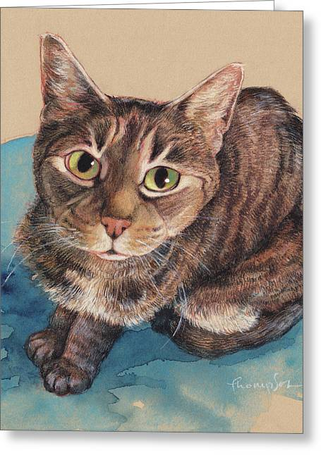 What's Up? Greeting Card by Tracie Thompson