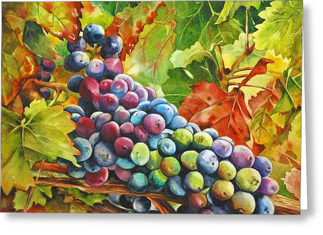 What's Your Grape Greeting Card