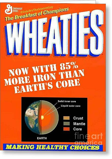 Wheaties Box 2 Greeting Card
