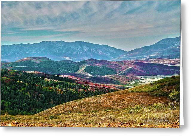 Wheeler Peak Greeting Card