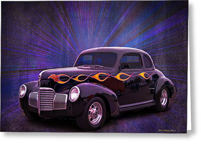 Wheels Of Dreams 2b Greeting Card by Walter Herrit