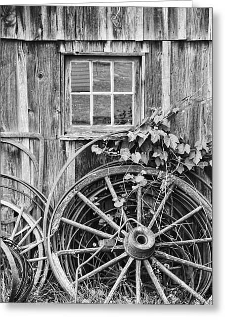 Kansas City Photographer Greeting Cards - Wheels Wheels and More Wheels Greeting Card by Crystal Nederman