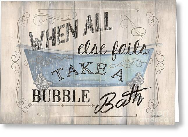 When All Else Fails Greeting Card by Debbie DeWitt