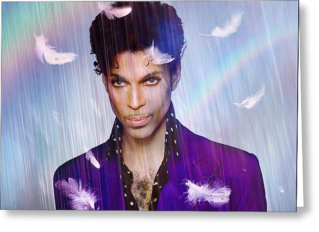 When Doves Cry Greeting Card